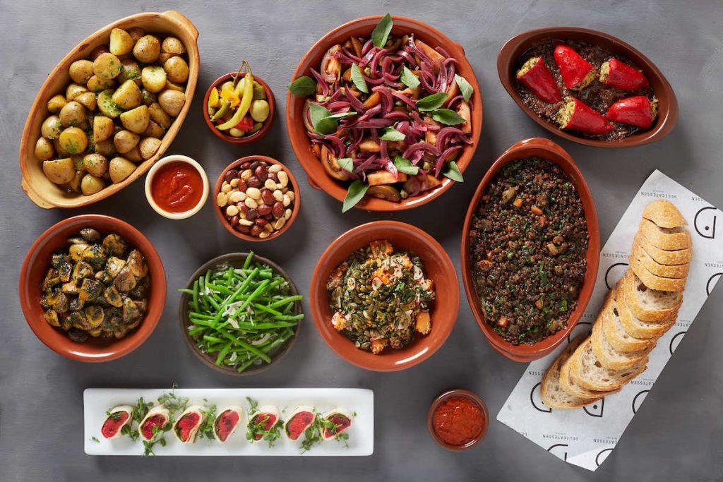 Vegetar og veganske retter fra CR Catering